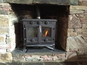 New: Solid fuel stove